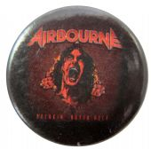 Airbourne - 'Breakin' Outta Hell' Button Badge